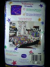 """Dino Curtain Valance Window Topper 84"""" x 15""""  Dinosaurs By Springs Home"""