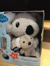 Mama Koala Plush Toy Cloud- B Baby Toddler Sooth Sound Music for Sleep 10in New