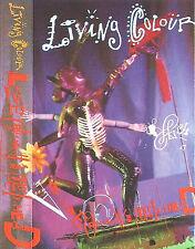LIVING COLOUR LOVE REARS ITS UGLY HEAD CASSETTE SINGLE Breakbeat Funk Metal