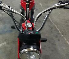 Chrome Kabelhülle Kabelüberzug Edelstahl ! Suzuki VL 800 Chrom Kawasaki VN 750