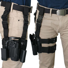 Military Special Forces Right Hand Paddle Leg Belt Drop Holster for Colt 1911