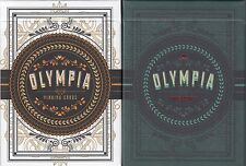 Olympia Playing Cards 2 Deck Set Poker Size USPCC Steve Minty Custom Limited New