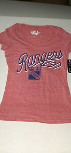 NY Rangers NHL Touch Women's T-Shirt L Brand new- Touch By Alyssa Milano - Small