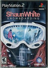 Shaun White Snowboarding (Sony PlayStation 2, 2008) Factory Sealed