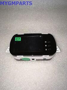 CHEVY AVEO CLOCK 2007-2011 NEW OEM GM  96945861