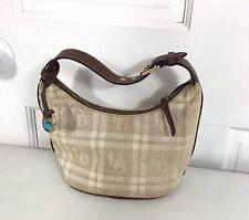 DOONEY BOURKE Handbag Purse Leather Trim