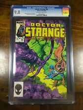 Doctor Strange #66 (Aug 1984, Marvel) CGC 9.8 OW/W pages vs Priests of Bjarghan