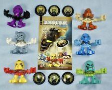 2001 McDonalds Lego Bionicle TOHUNGA - Toa Matoran Set with 6 Discs + Comic Book