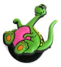 Hot Pink Dinosaur Authentic Jibbitz Crocs Shoe Bracelet Wristband Charm
