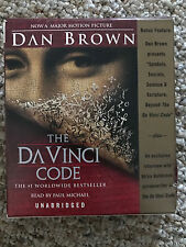 THE DA VINCI CODE BY DAN BROWN AUDIO BOOK ON CD 14 DISC SET UNABRIDGED LIKE NEW