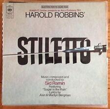 Stiletto Soundtrack LP UK 1969 LP CBS Records, Sid Ramin - score