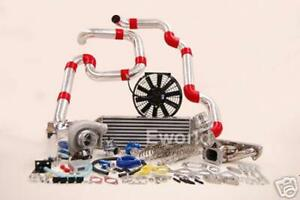 FOR HONDA Turbo Kit H22 Civic Del Sol CRX Accord 2.2L TurboCharger ACURA RSX