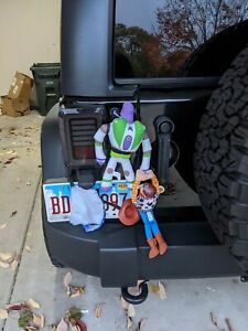 "Buzz and Woody ""Hanging on"" Car Attachment"