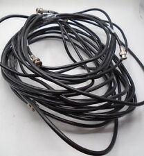 Belden Video Cable BNC Twist/screw on 10, 13, 19' Lot of 6 Shield Coaxial *33 N