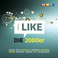 RTL I LIKE DIE 2000ER (SCOOTER,AMY WHINEHOUSE,NO ANGELS,SEAN PAUL,...) 3 CD NEW