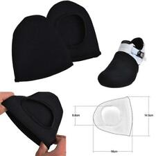 Black 2PC Bike Bicycle Cycling Shoe Toe Cover Overshoes Warmer tector Sport P1V0