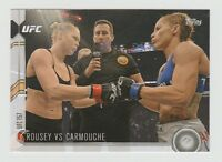 ROUSEY VS. CARMOUCHE UFC 2015 Topps Chronicles#182