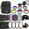 Canon EF 50mm f/1.4 USM Lens + 58mm Accessory Kit for Canon T7 T7i T6