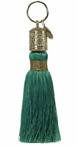 Papaya Art New tassel key chain Jewel Green - Purse Accessory UBS
