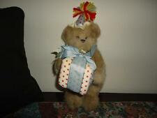 Bearington Collection HAPPY BIRTHDAY BEAR 12 inch with Present