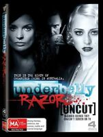 UNDERBELLY Season 4: RAZOR (NEW DVD)