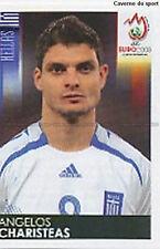 N°382 VIGNETTE PANINI CHARISTEAS GREECE EURO 2008 STICKER