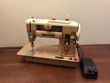 Singer 401A Slant-O-Matic Heavy-duty Sewing Machine - Just Serviced