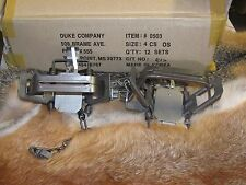 2 New Duke # 4 offset  4X4 Coil Spring Traps  Beaver Bobcat Coyote Wolf NEW SALE