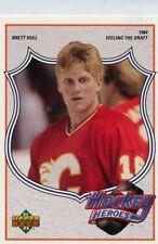 BRETT HULL 1991-92 Upper Deck Hockey Heroes #2