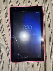 """RCA Voyager Pro 7"""" Tablet Touchscreen RCT6773W42B Pink 16 GB  WI-FI Needs Repair"""
