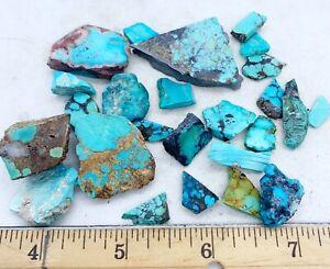 Amazing Turquoise Mixed Slabs Rare Rough 25-15
