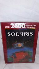 Solaris (Atari 2600, 1987) NEW & Sealed. CX26136