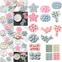 Silicone Ice Cube Soap Mold Cake Jelly Cookies Chocolate Baking Decor Mould Tray