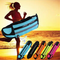 Running Waist Belt Bags Sports Bum Pack Fanny Money Pouch Wallet With Zip Travel