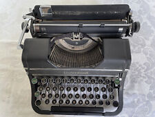 Underwood Champion Portable Black Typewriter w/ Case (Used, but in Fine Shape)