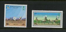S339  Saudi Arabia  1987  space telecoms  2v.   MNH