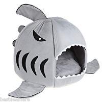 Bonito Tiburón Boca Mascota Perro Gato Casa Removable Lavable Cama Perrera