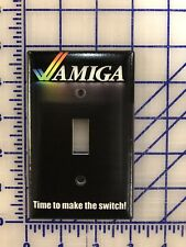 Amiga Computer Light Switch Wall Plate