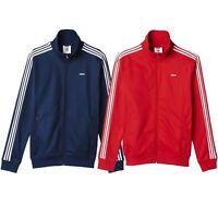 adidas ORIGINALS MEN'S BECKENBAUER OG JACKET NAVY RED CLASSIC CASUALS TRACK TOP