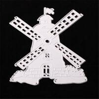 Stanzschablone Windmühle Weihnachten Hochzeit Geburtstag Oster Karte Album Deko