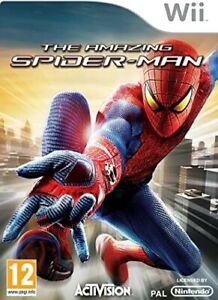 The Amazing Spider Man NINTENDO WII NUOVO SIGILLATO IN ITALIANO SPIDER-MAN CD
