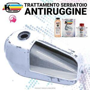 TANK SEALER POWER Kit Trattamento Serbatoio Ripara Anti Ruggine Bianco Piccolo