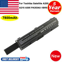 9Cell Battery for Toshiba Satellite PA3534U-1BRS A205 A305 A505 L305 L505D Fast