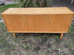 Mid Century Sideboard 602/H von Franz Ehrlich für DW Hellerau DDR Möbel Bauhaus