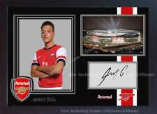Mesut Ozil Arsenal signed autograph poster photo print picture Framed MDF
