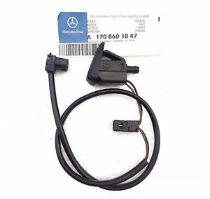 NEW GENUINE MERCEDES BENZ MB SLK CLASS W170 FRONT WASHER NOZZLE JET RIGHT O/S