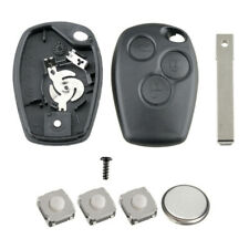 Renault 3 Button Remote Key Fob Case Repair Kit Fits Trafic Master Clio Kangoo