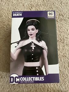 DC Collectibles Bombshells Death Statue (Vertigo, Sandman), # 0966/ 5000