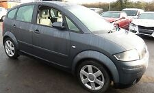 AUDI A2 1.4 TDI diesel 2002 breaking all parts available dolphin grey LX7Z