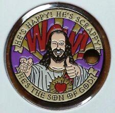 Buddy Christ Dogma Jesus Catholic Church Parody Pathtag Coin Geo-coin Geocache